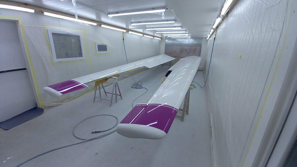 Peinture planeur réparation et maintenance